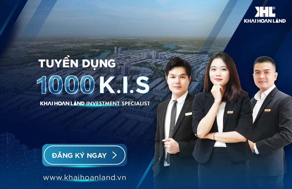 K.I.S – Diện mạo mới của chuyên viên kinh doanh Khải Hoàn Land và Khải Minh Land