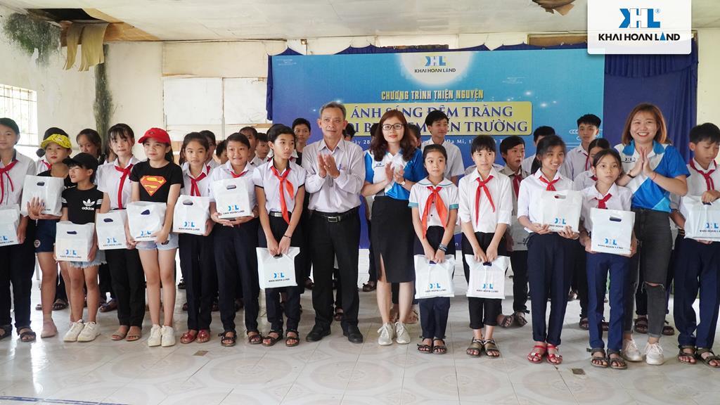 Khải Hoàn Land mang trung thu ấm áp đến với vùng cao Đa Mi, Bình Thuận