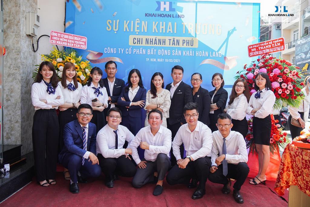 Khải Hoàn Land Chào đón chi nhánh quy mô tập trung Tân Phú